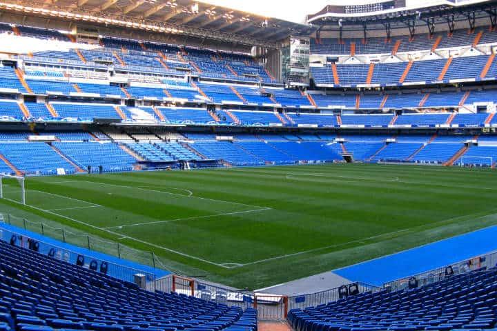 Estadio Santiago Bernabéu. Foto trinchetto