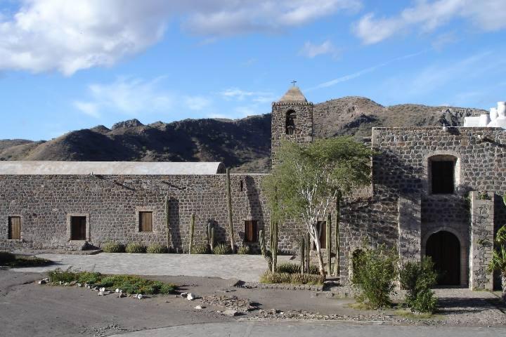 misión de santa Rosalía de Mulegé.Foto Instituto sudcaliforniano de cultura