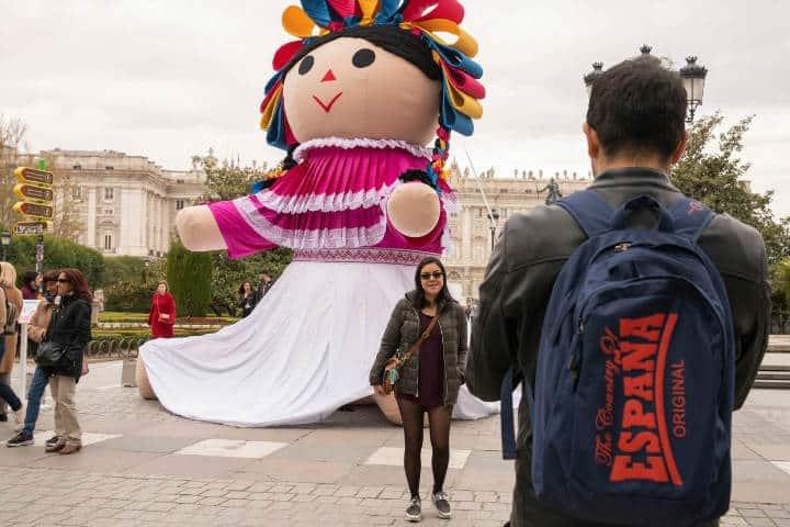 Lele la muñeca otomi. España. Foto Archivo 2