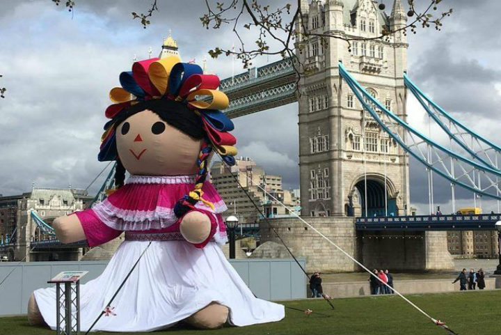 Lele la muñeca otomi. Londres. Foto Archivo 3