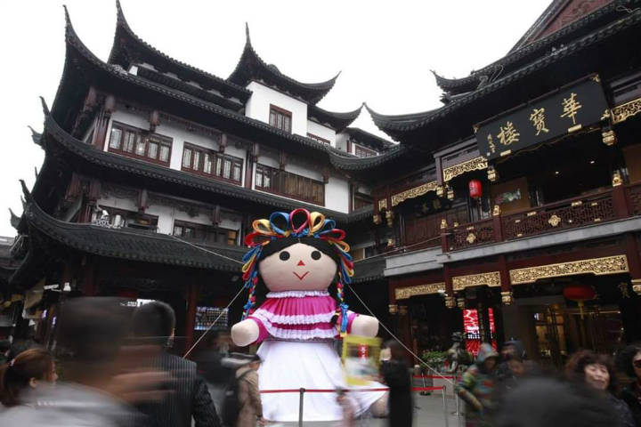 Lele la muñeca otomi. Shanghai. Foto Archivo 4