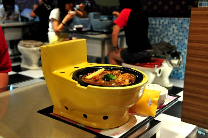 Modern Toilet Restaurant Foto riNux