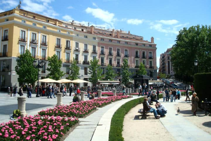Plaza de Oriente. Foto Sólo J.