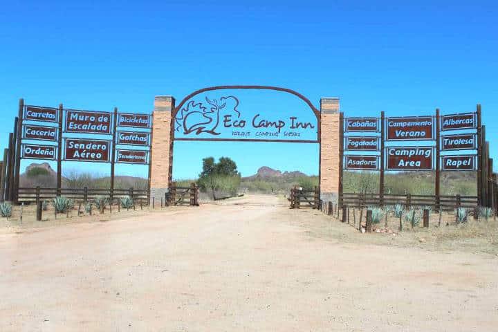 Eco camp inn. Sonora. Imagen: Viajes, pasajes y hoteles