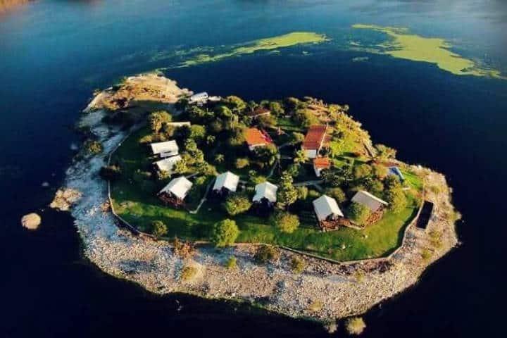 Isla Tzibantzá. Foto: loquenohasvistoenmexico