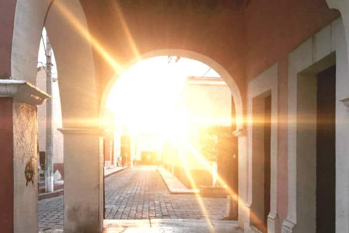 Que hacer en Cadereyta de Montes. Jardin principal. Foto Cadereyta Pueblo Mágico