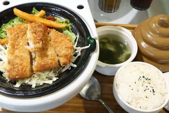 Restaurante Modern Toilet en Taipei. Foto Milocayoj