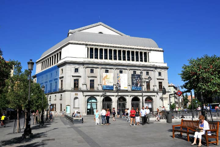 Teatro Real. Foto FaceMePLS
