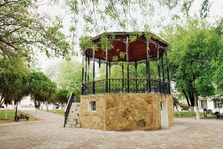 plaza de armas mier tamaulipas