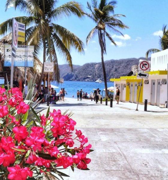 Portada Playa Cuastecomates. Foto. Cuastecomates Playa Incluyente