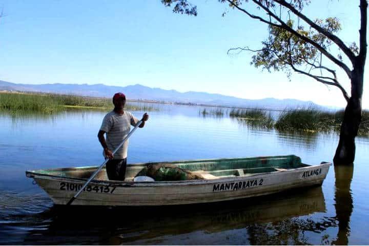 Laguna de atlanga. Foto El Sol de Tlaxcala.