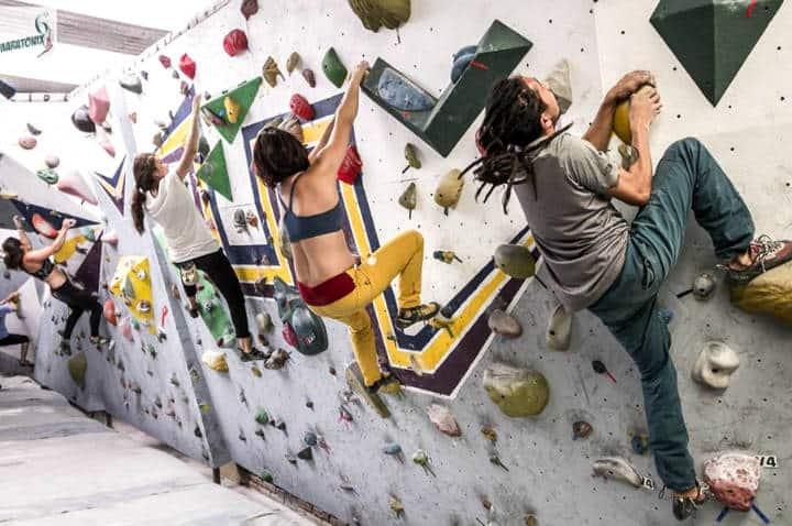 Escalada en roca en la CDMX Foto Onix 4