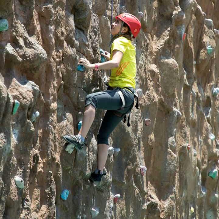 Escalada en roca en la CDMX Foto The Muro El Reto 1
