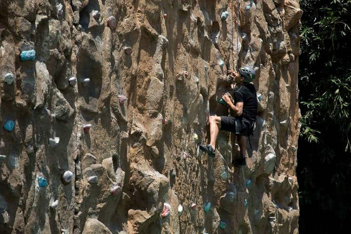 Escalada en roca en la CDMX Foto The Muro El Reto 2