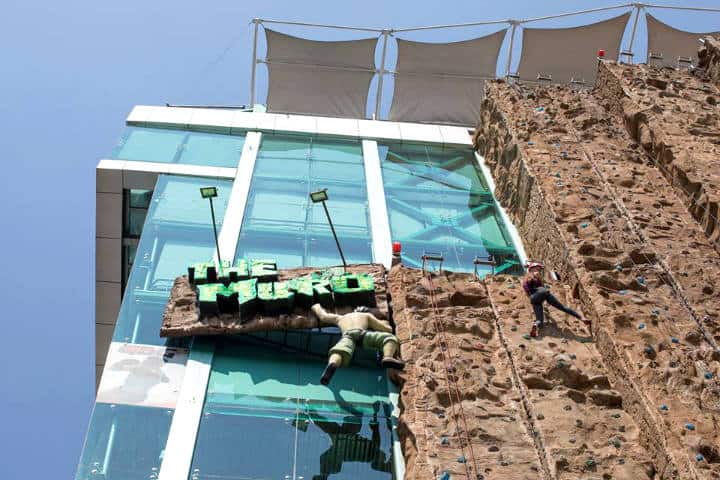 Escalada en roca en la CDMX Foto The Muro El Reto 7
