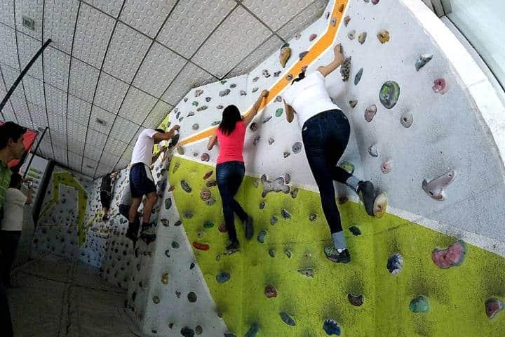 Escalada en roca en la CDMX Foto V + Bouldering 6