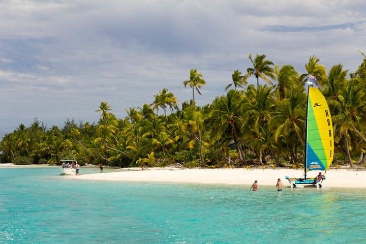 Islas Cook en el Océano Pacífico Sur. Foto Viaja por libre