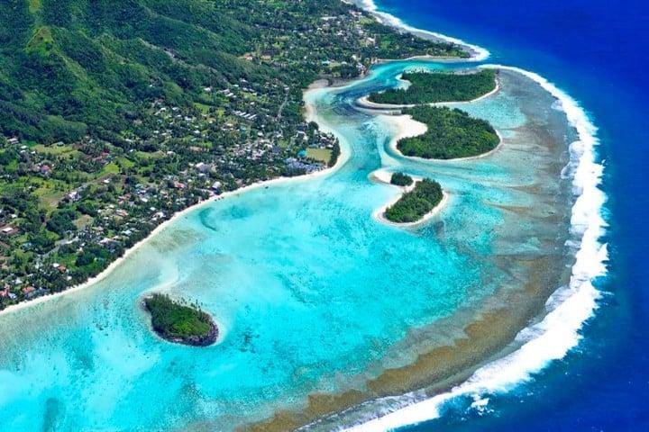 Islas Cook en el Océano Pacífico Sur. Hay mucho por descubrir en las Islas Cook Foto: Turama Pacific Travel Group