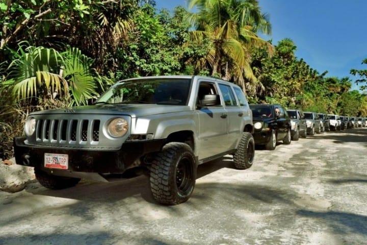 Jeep Sian Kaan en La Riviera Maya Foto: Go Go Travel