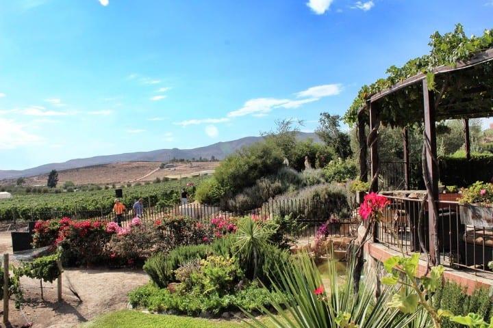 La Lomita además de vino posee una rica belleza natural y arquitectónica Foto Flickr