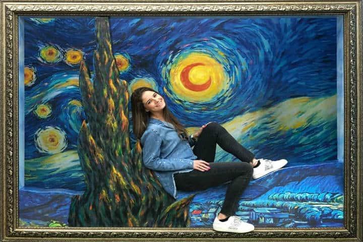 La noche estrella, Van Gogh. Foto Patylu