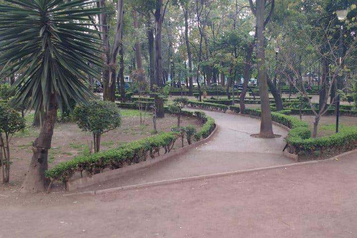 Parque las Arboledas. CDMX. Foto. Chilpas