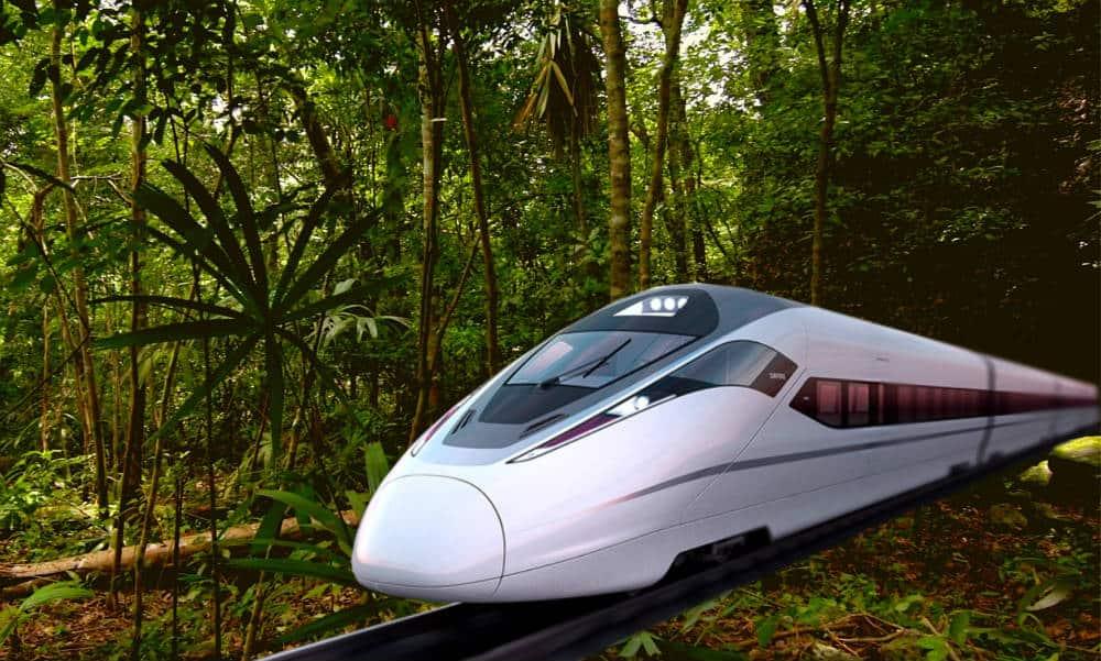 Portada Tren Maya Cámara de Diputados Foto El Souvenir