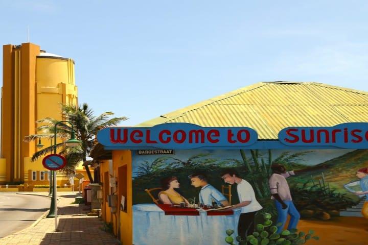 San Nicolas un lugar donde el arte se vive en las calles Foto Aruba