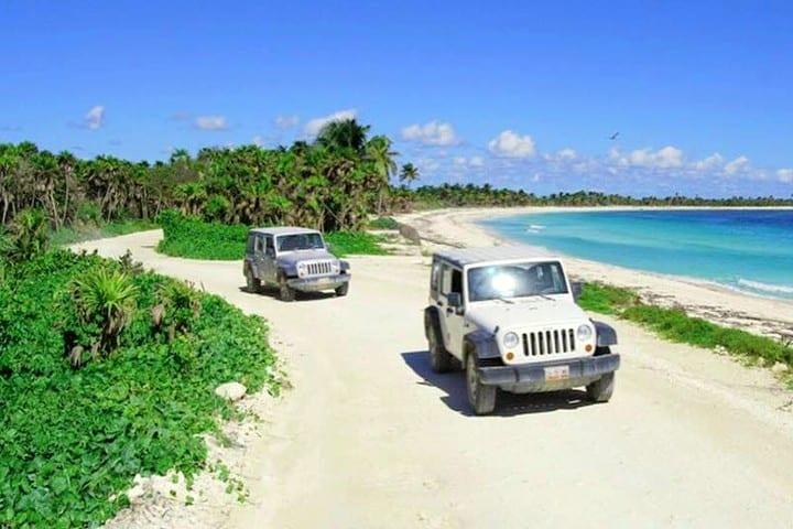 Turismo de Aventura en Riviera maya. Biósfera de Sian Ka'an
