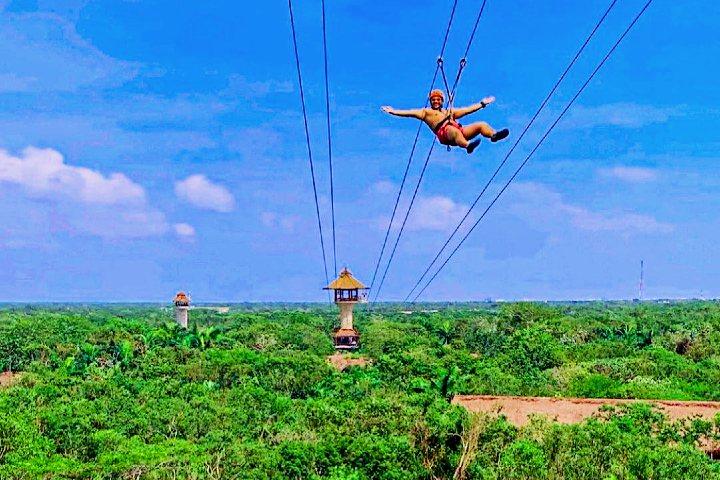 Turismo de aventura en Riviera Maya.