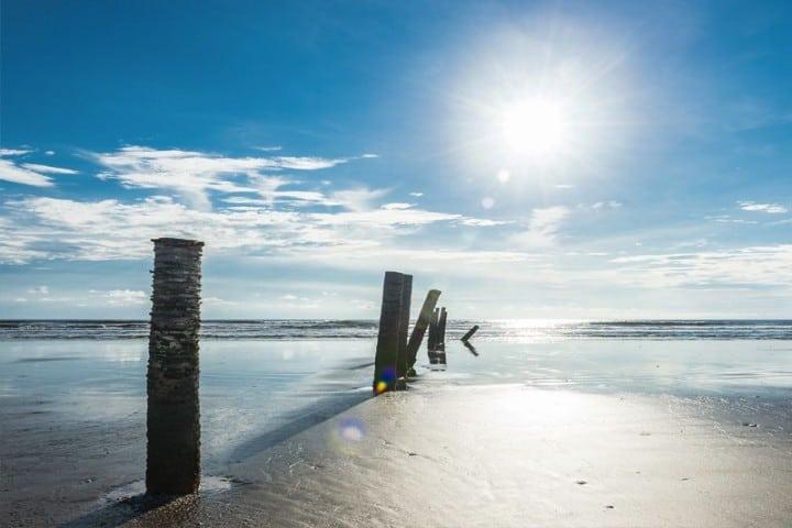 Playa Novillero es una de las más extensas de mundo Foto San Blas Riviera Nayarit