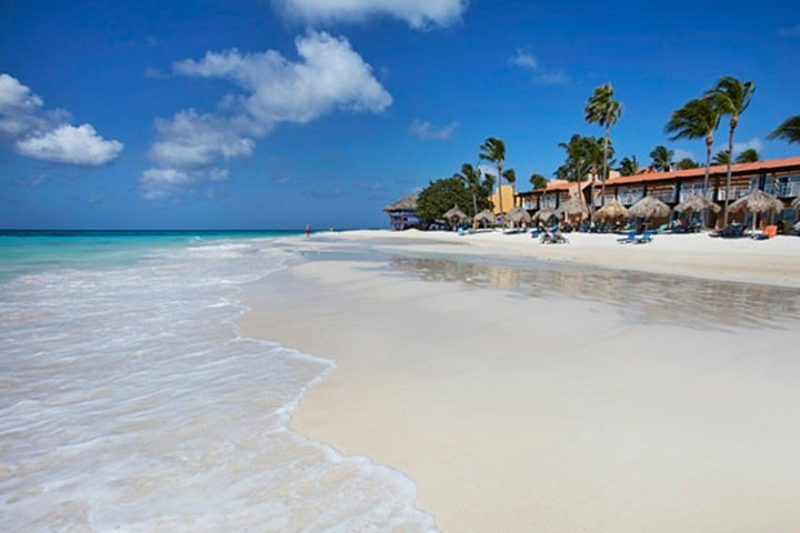 Playa Eagles en Aruba Foto Hotelius