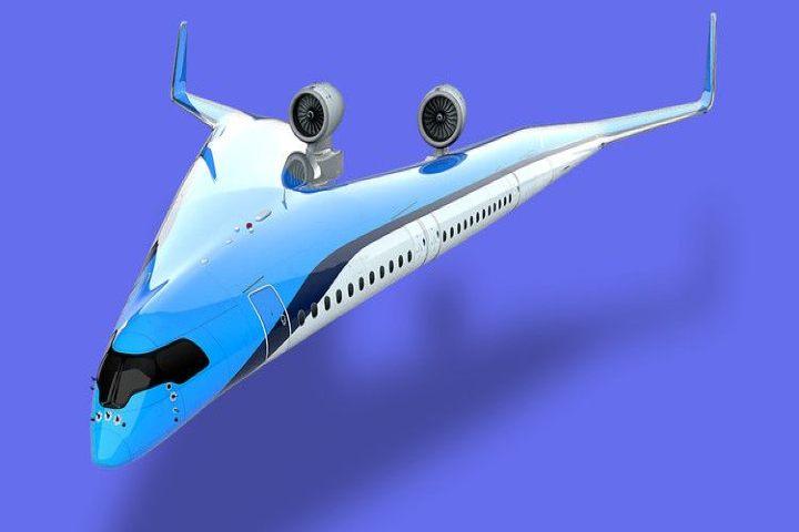 Avión con alternativas sustentables. Foto Apple News.