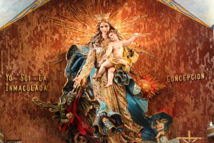 Basílica de la Inmaculada Concepción. Foto Viajandotodomexico.