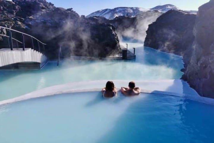 Bluee lagoon,Islandia. Imagen