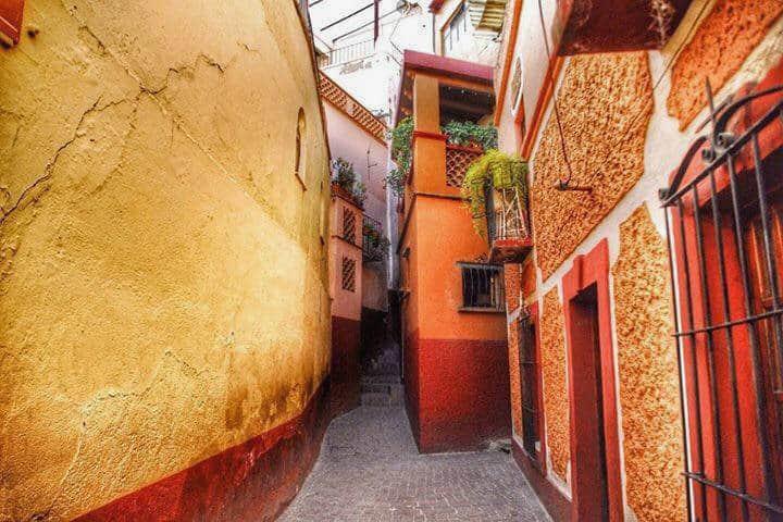 Callejón del beso Foto: Camino de Guanajuato