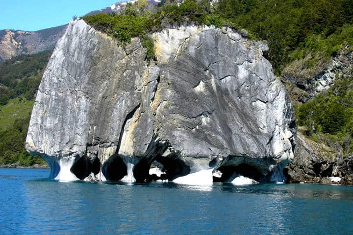 Que ver en las capillas de mármol en la Patagonia
