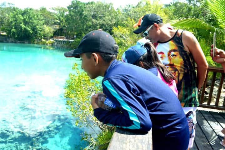 Parque de Chankanaab en Cozumel. Foto Quinta Fuerza