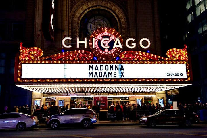 Chicago Theatre. Foto. Rebellious Magazine