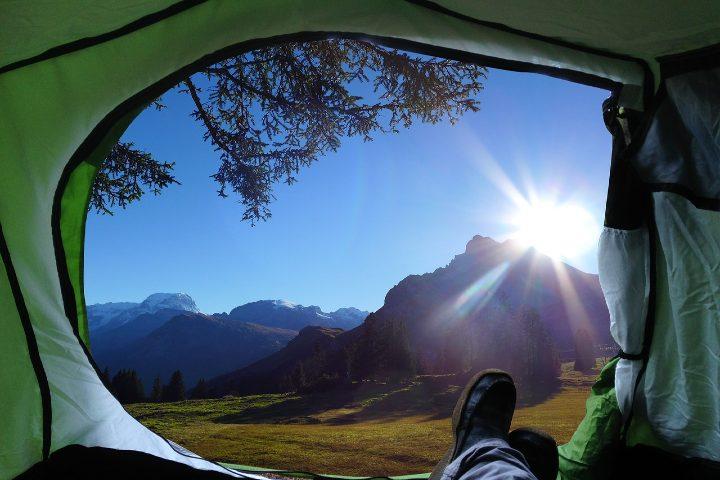 Consejos para acampar en el bosque. Foto Marial Lorenz.