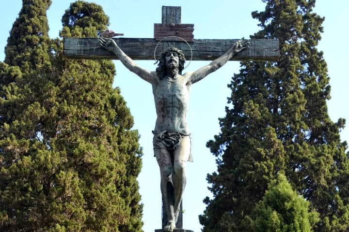 Cristo llora miel Foto Pedro Martín
