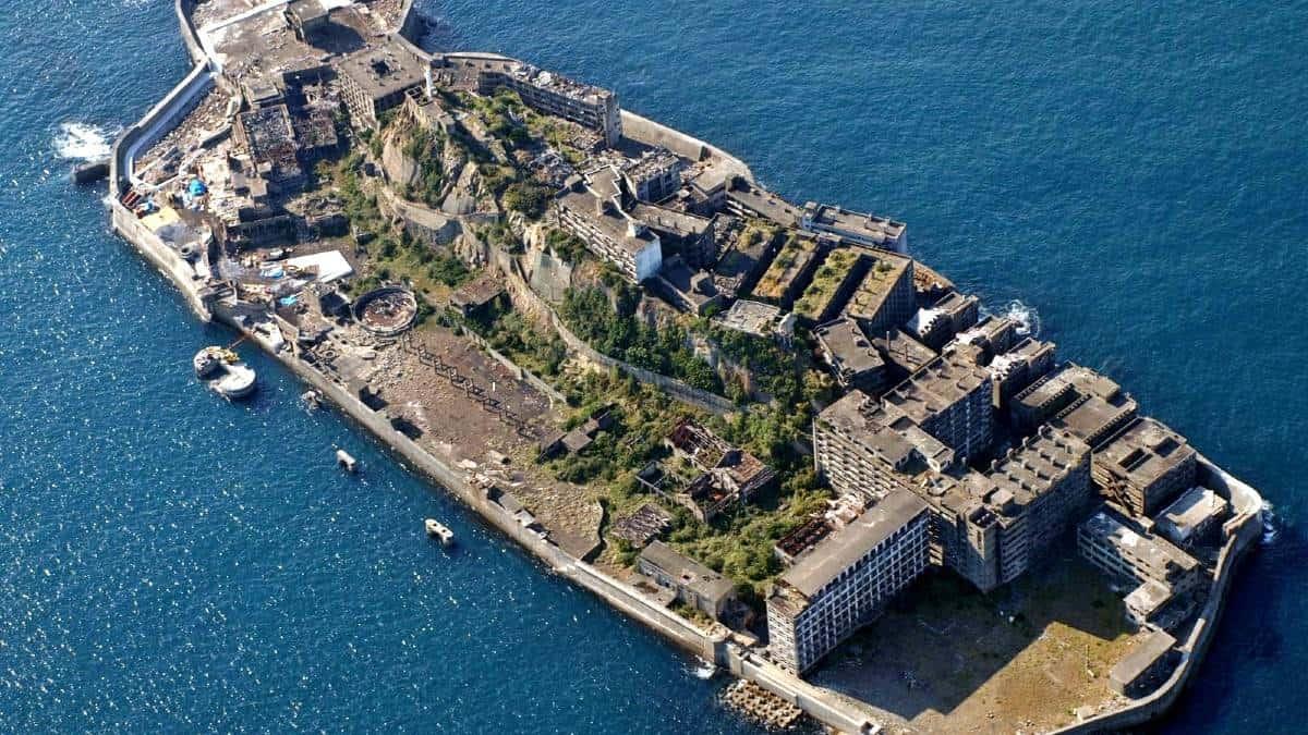 Curiosidades de la isla Hashima en Japón port