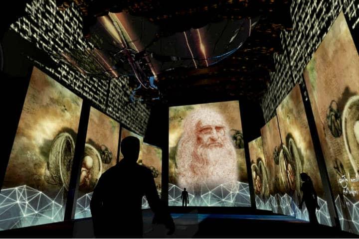Da Vinci Foto Archivo