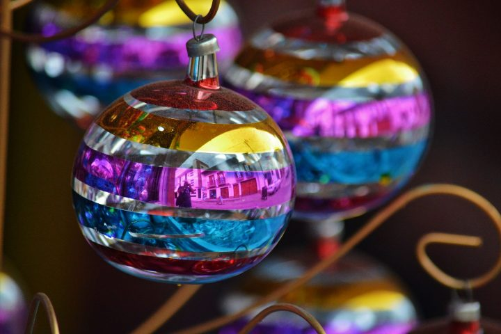Decoraciones navideñas. Foto Flick.