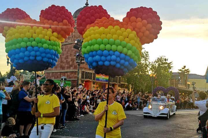 Disney busca celebrar la diversidad. Foto Magical Pride.