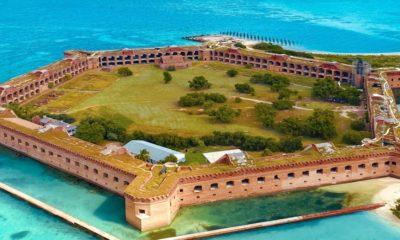 Dry Tortugas National Park en Florida. Foto: Visit Florida