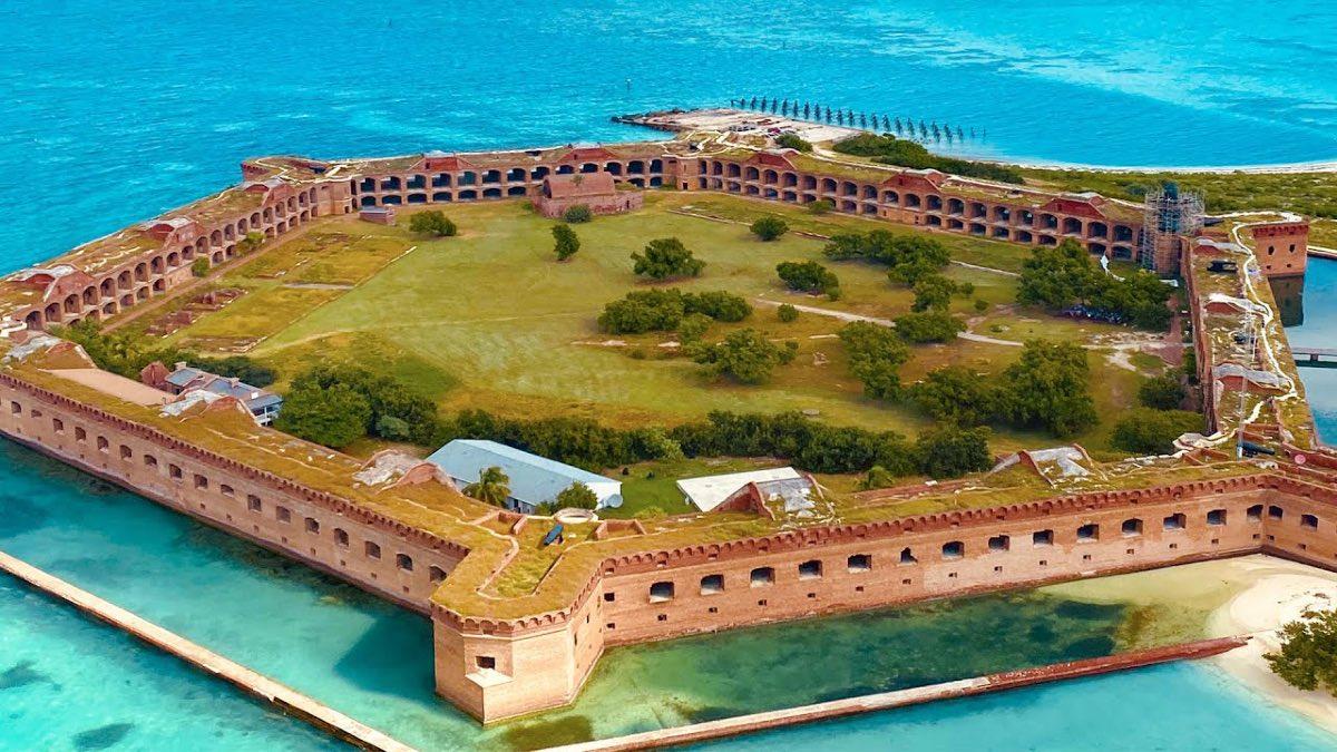 Dry Tortugas National Park en Florida. Foto Visit Florida