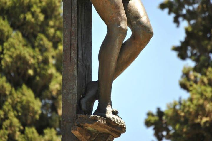 El Cristo que llora miel en España. Foto. El Giraldillo. 2