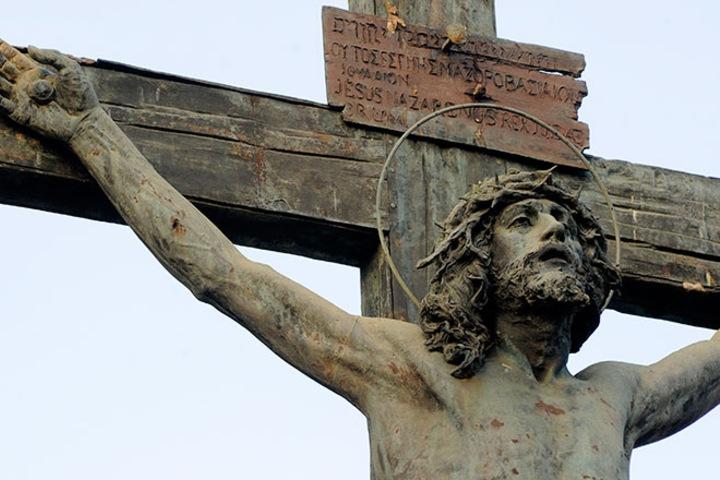 El Cristo que llora miel. Foto_ Sevilla Ciudad