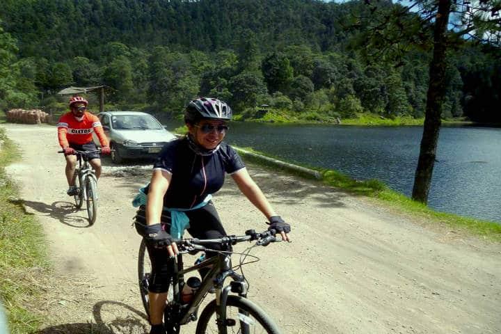 Mejores rutas para cicloturismo en México. Foto: Alex Badillo
